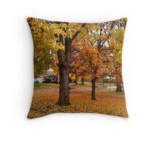 November On The Sherry Throw Pillow