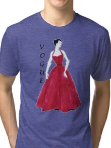 Vogue Special Design Tri-blend T-Shirt
