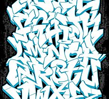 Graffiti Alphabet by trev4000