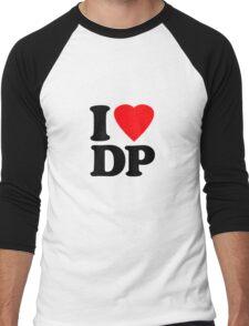 I Heart DP Men's Baseball ¾ T-Shirt