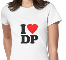 I Heart DP Womens Fitted T-Shirt