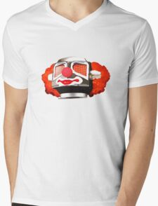 Clownbot Mens V-Neck T-Shirt