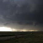 Spectacular tornado warned supercell by jdeguara