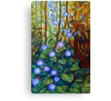 "Ipomoea ""caerulea blue"" Canvas Print"