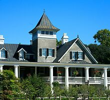 The Masters House - Magnolia Plantation by Mary Campbell