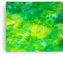 Abstract Spring Colors Canvas Print