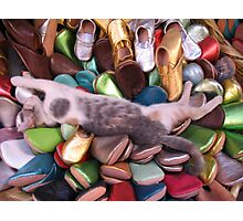 Siesta time in the Souk Photographic Print