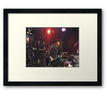 The Ga*Ga*s On Stage Framed Print