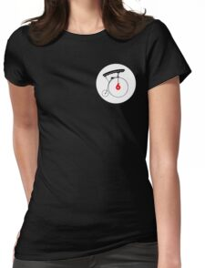 The Prisoner Badge Womens Fitted T-Shirt