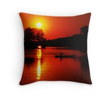 Approaching Twilight Throw Pillow