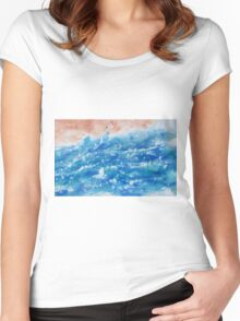 Wild Sea Women's Fitted Scoop T-Shirt