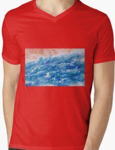 Wild Sea Mens V-Neck T-Shirt