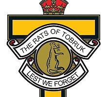 The Rats Of Tobruk - Lest We Forget Anzac 2015 by AnzacMascots