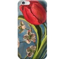Tulip and Dogwoods iPhone Case/Skin