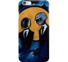Daft Punk in Space iPhone Case/Skin