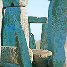 Stonehenge Bleu by M VH