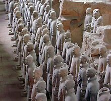 Terra Cotta Soldiers by JoJoCSZ