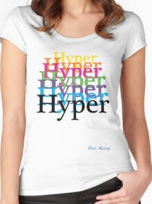 HYPER Women's Fitted Scoop T-Shirt