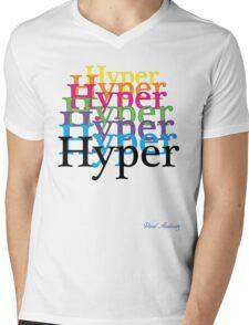 HYPER Mens V-Neck T-Shirt