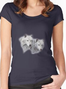 Wolves Women's Fitted Scoop T-Shirt
