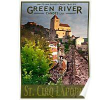 Explore St. Cirq Lapopie Poster
