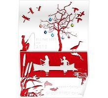 Explore Christmas Paper Cut Poster