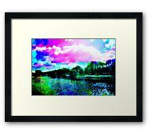 Liffey Landscape Framed Print
