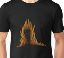 Flaming wolf Unisex T-Shirt
