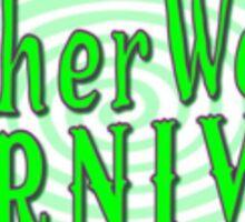 The Netherworld Carnival Logo Sticker