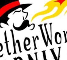 The Netherworld Carnival Fire Breather Sticker