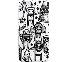 Doctor Who doodle iPhone Case/Skin