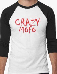CRAZY MOFO Men's Baseball ¾ T-Shirt