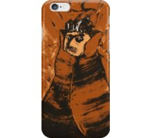 Portrait Of A Magician In Orange iPhone Case/Skin