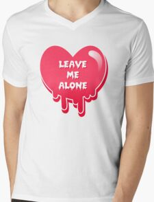 pastel melty heart leave me alone T-Shirt