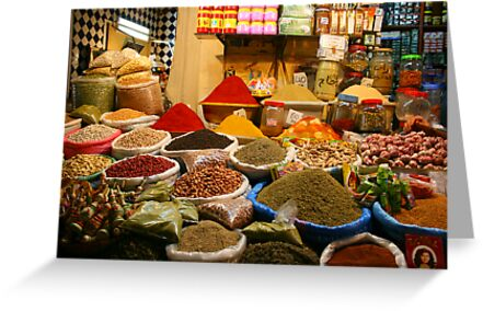 Spice Souk by Michelle Thomson