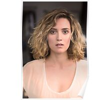 The Beautiful Evelyne Brochu Poster