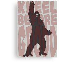 Kneel Before Grodd - The Flash Canvas Print