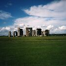 STONEHENGE FROM AFAR by DIANEPEAREN