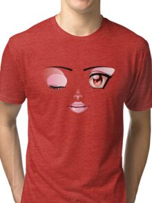 Happy Face Tri-blend T-Shirt