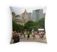 The Love of New York City Throw Pillow