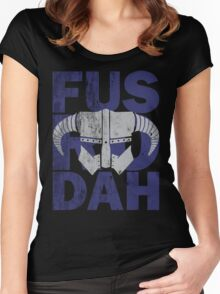 fus ro dah Women's Fitted Scoop T-Shirt