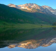 Piney Lake and Mt. Powell by Paul Gana