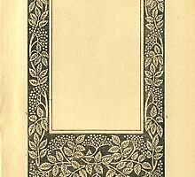 Vintage Book Page With Elder Berries by Colorello