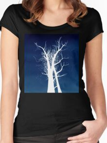 Inverted Trees Women's Fitted Scoop T-Shirt