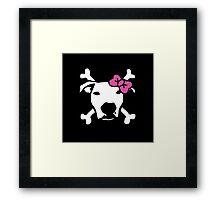 Lita Crossbones Framed Print