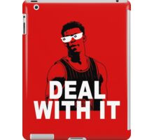 DEAL WITH IT iPad Case/Skin