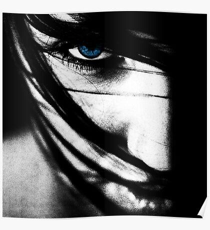 Sapphire Blue  Poster