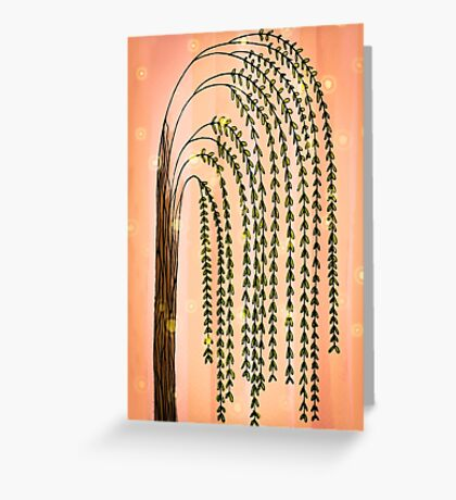 Hello Willow Greeting Card