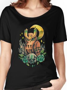 Noctowl  Women's Relaxed Fit T-Shirt