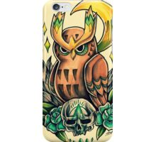 Noctowl  iPhone Case/Skin